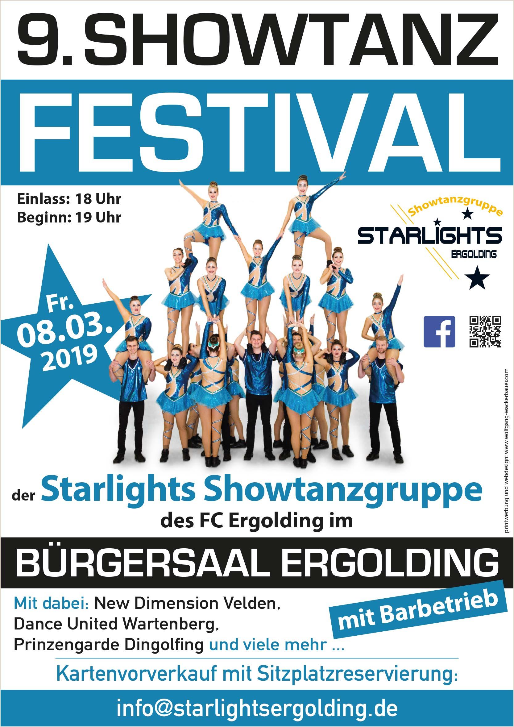 Showtanzfestival 2019 Handzettel neu