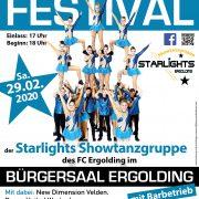 Starlights Ergolding 10. Showtanzfestival Schaltjahr 2020